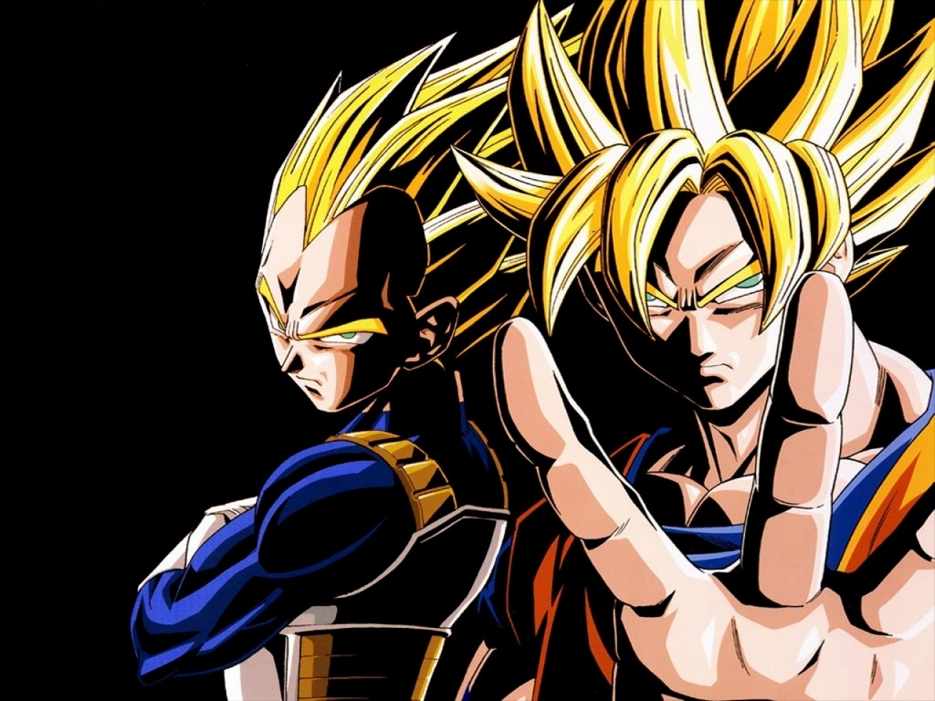 son goku vegeta dragonball - photo #33